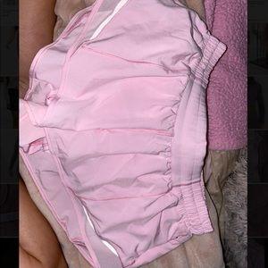 Like New Pink Lululemon Shorts!